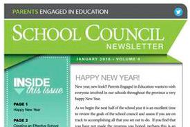 January, 2016 Newsletter