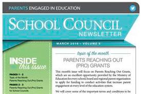 March, 2016 Newsletter