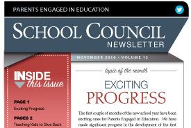 November, 2016 Newsletter