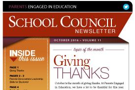 October, 2016 Newsletter