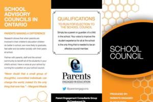 School Councils in Ontario