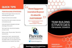 School Councils - Team Building Strategies