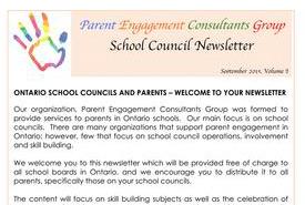 September, 2016 Newsletter