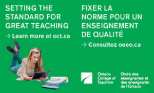 OCT- Ontario College of Teachers